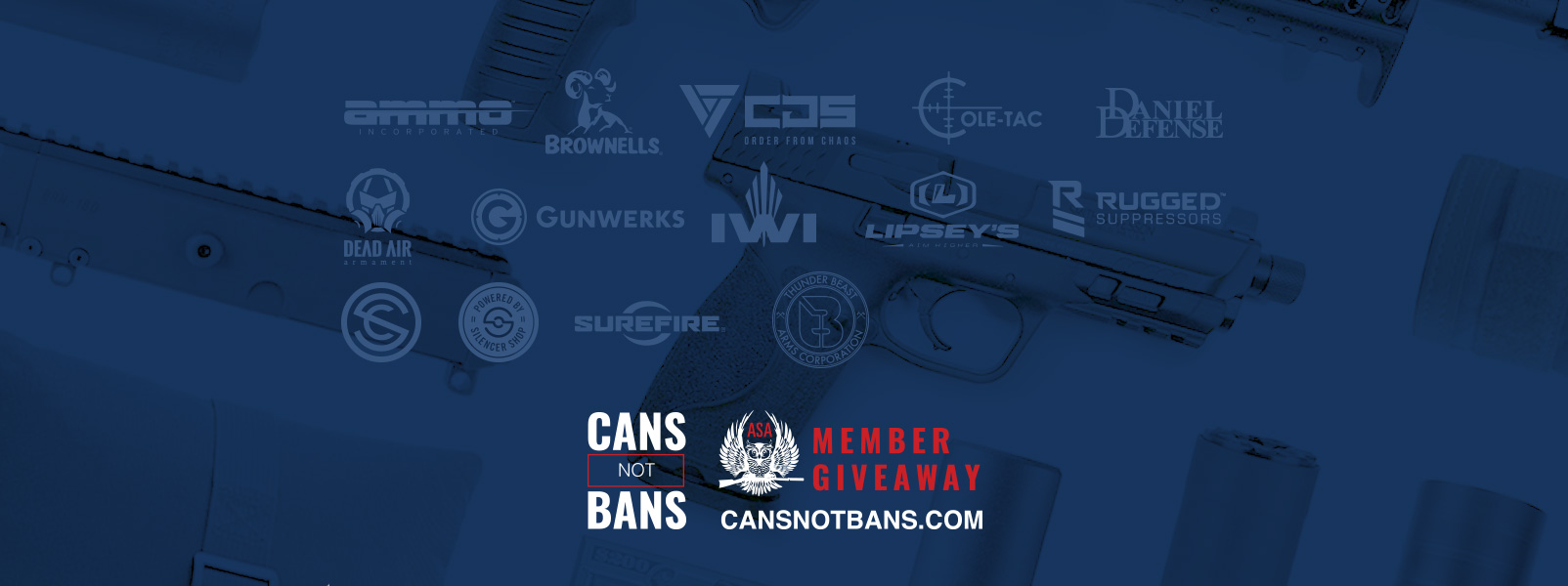 November Cans Not Bans Member Giveaway Winners Announced